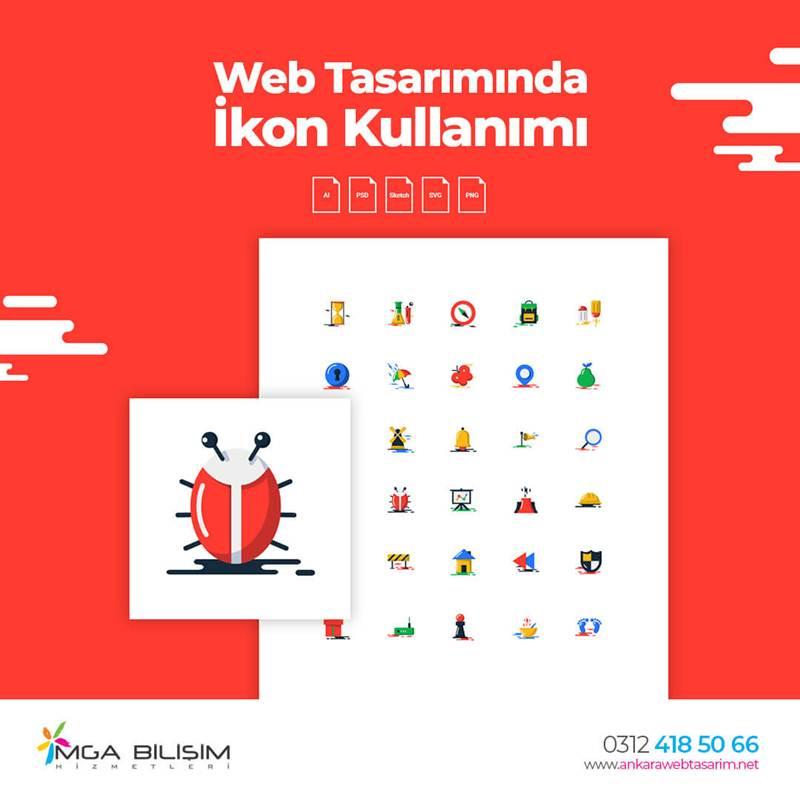 Web Tasarımında ikon Kullanımı