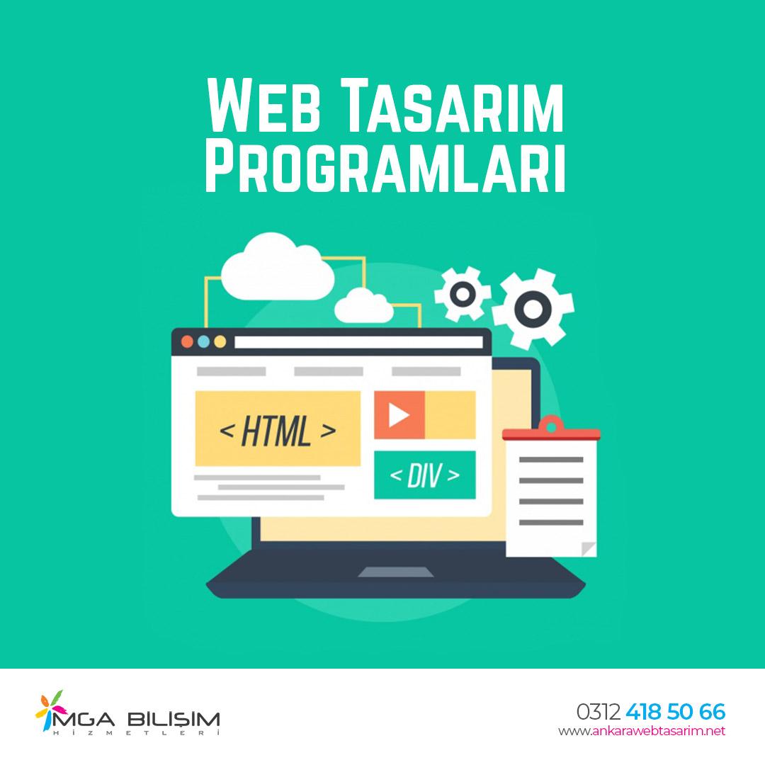Web Tasarım Programları