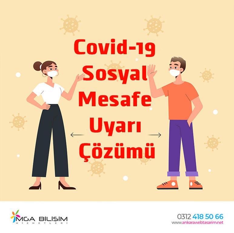 Covid-19 Sosyal Mesafe Uyarı Çözümü