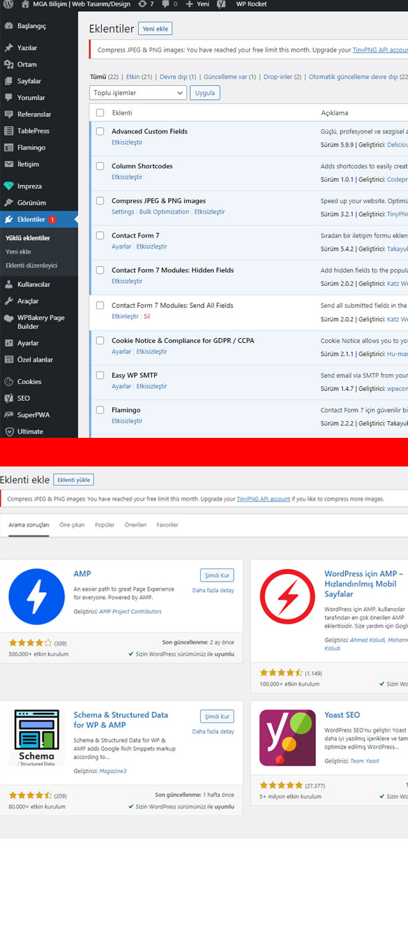 Google AMP Wordpress Kurulumu